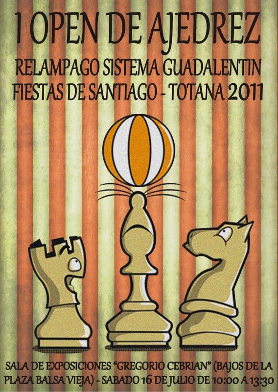 I Open de Ajedrez Fiestas de Santiago-Totana