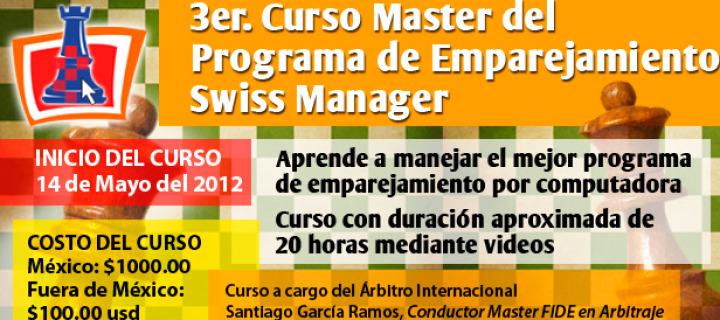 Curso Master de Swiss Manager
