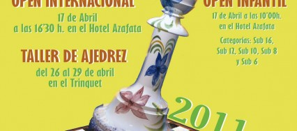 Cartel Ajedrez Manises 2011