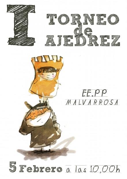Cartel I Torneo Malvarrosa 2011