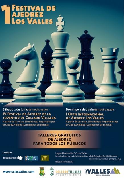 Festival de ajedrez los valles 2012